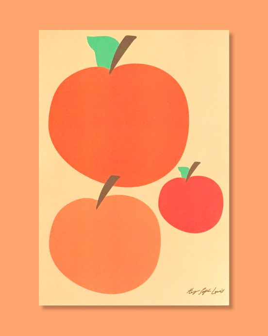 You're A Peach A4 Print