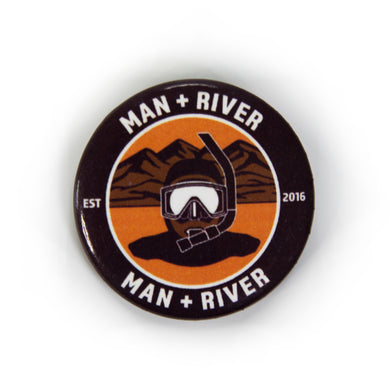 M+R Desert River Button