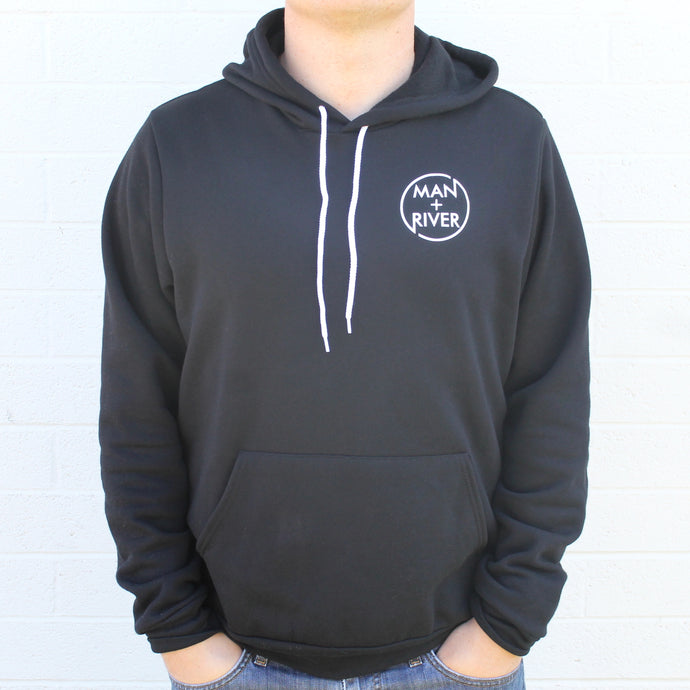 NEW Man + River Hoodie (Black)