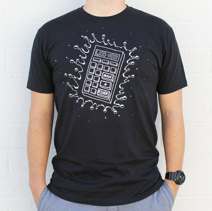Calculator Splash Tee (Black - LIMITED SUPPLY!)