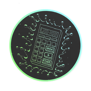 M+R Calculator Sticker