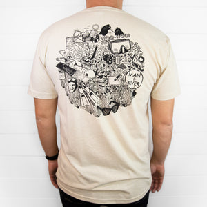 *NEW* River Collage Shirt (2-Sided)