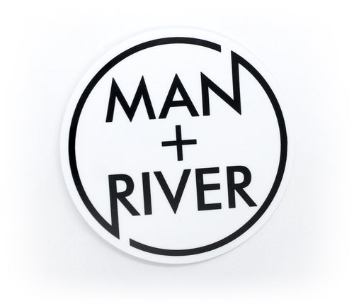 M+R Circle Logo Sticker