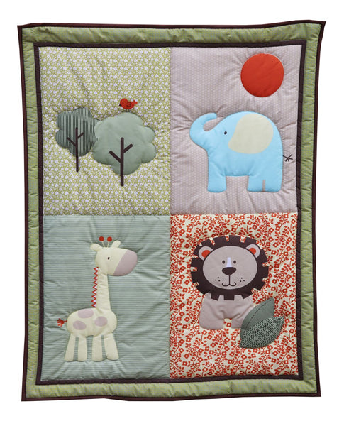 Snuggletime 3 Piece Quilt Set-Quilt Set-Snuggletime-Safari-www.hellomom.co.za
