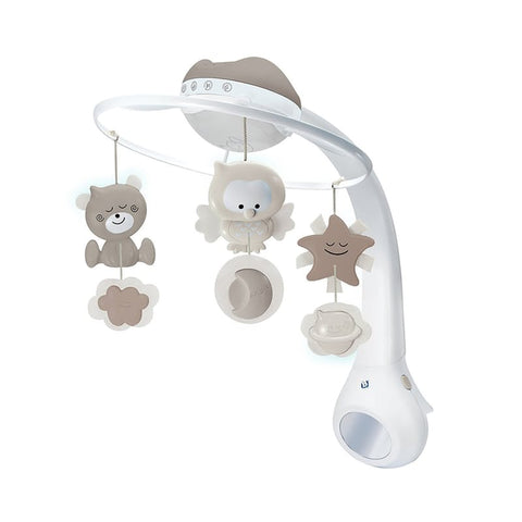Infantino 3 in 1 Projector Musical Mobile in Ecru