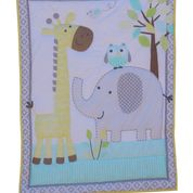 Snuggletime 3 Piece Quilt Set-Quilt Set-Snuggletime-Elephant Owl and Giraffe-www.hellomom.co.za
