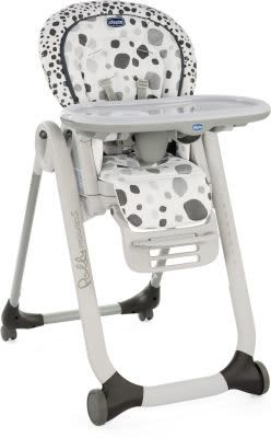 Chicco Polly Progress 5 Highchair-Highchairs-Chicco-Anthracite-www.hellomom.co.za