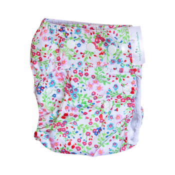 Mother Nature Budget/Starter Pack: All-in-3 Cloth Nappy-Nappies-Mother Nature-5 in Mint-Bamboo Insert-www.hellomom.co.za
