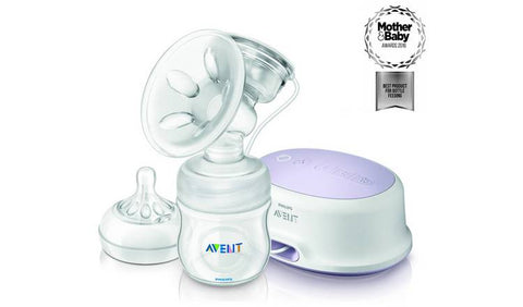 Avent Natural Single Electric Breast Pump in White