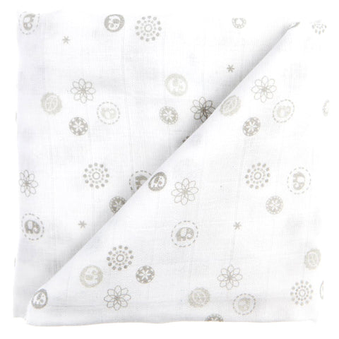 Baby Sense Bamboo Receiving Blanket-Blankets-Baby Sense-Grey-www.hellomom.co.za