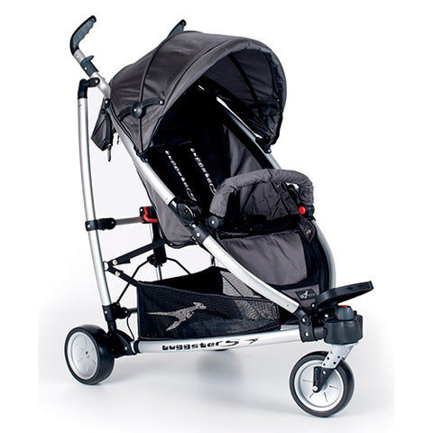 TFK Buggster S Stroller-Strollers-Trends for Kids-Carbo Grey-www.hellomom.co.za