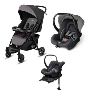 CBX Woya 3 in 1 Travel System-Travel Systems-CBX-Grey-www.hellomom.co.za