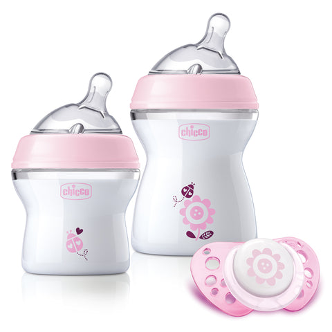 Chicco Natural Feeling Feeding Set