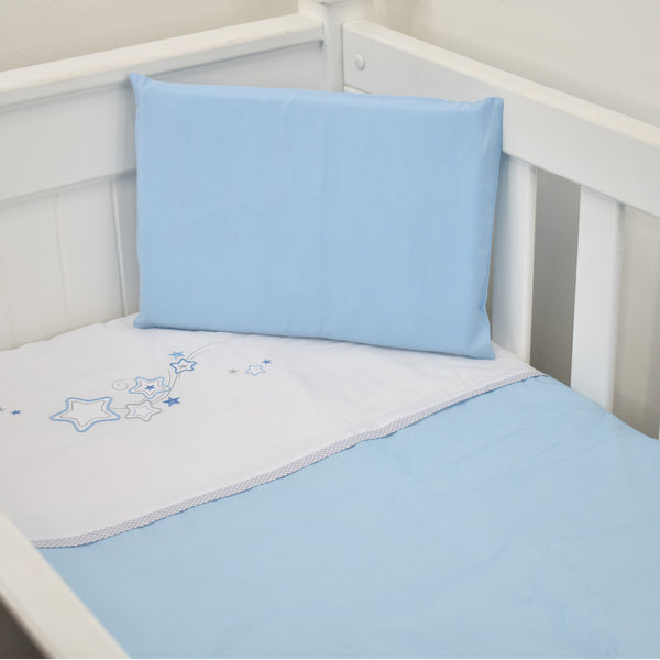 Cabbage Creek 3 Piece Linen Set-Bedding-Cabbage Creek-Blue Stars-www.hellomom.co.za