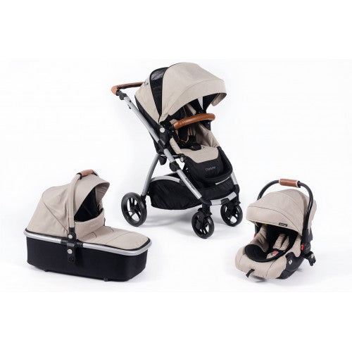 Babybuugz Chariszma 3 in 1 Travel System in Sandstone