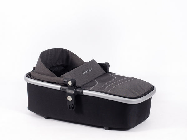 Babybuggz Chariszma Carrycot in Charcoal