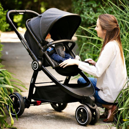 Chelino Platinum Discovery Travel System with Black Frame with Free Bubble Cover-Travel Systems-Chelino-www.hellomom.co.za