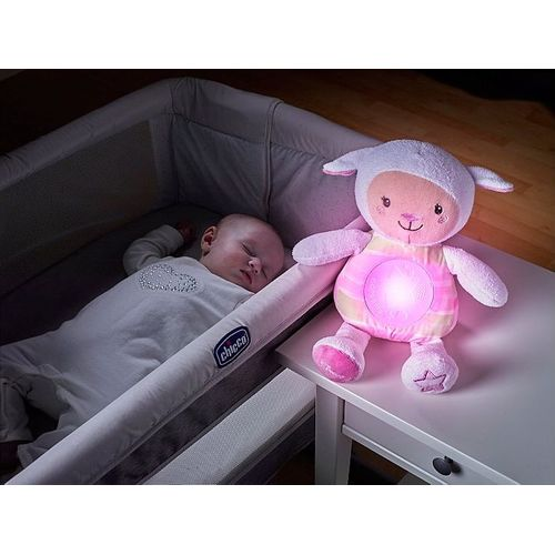 Chicco First Dreams Lullaby Sheep-Night Light-Chicco-Pink-www.hellomom.co.za