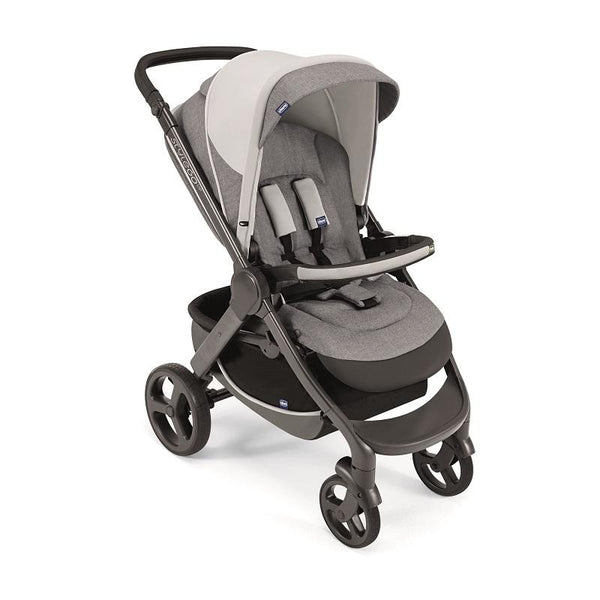 Chicco Stylego Up Crossover Stroller-Strollers-Chicco-Grey-www.hellomom.co.za