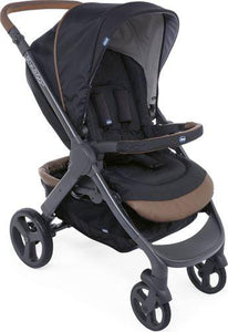 Chicco Stylego Up Crossover Stroller-Strollers-Chicco-Black-www.hellomom.co.za