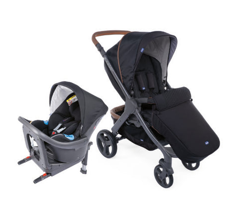 Chicco Stylego Up Crossover & Oasys i-size Bebecare Travel System