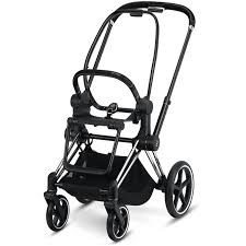Cybex Priam stroller ( Frame Only)-Strollers-Cybex-Chrome with Black Detail-www.hellomom.co.za