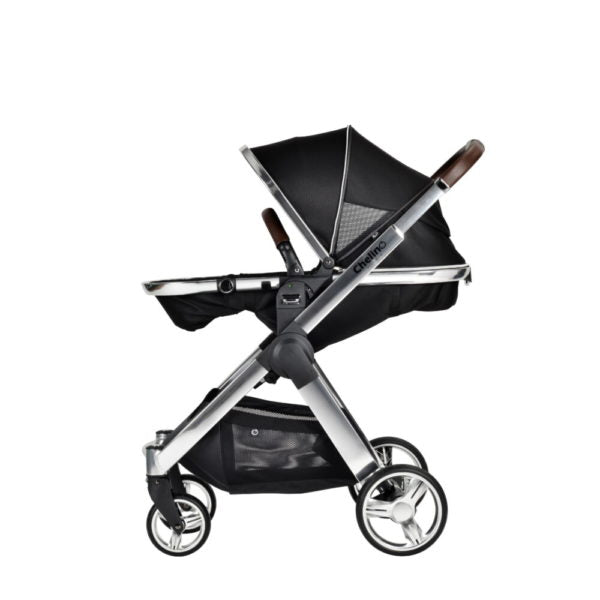Chelino Platinum Lunar 3 in 1 Travel System with Chrome Frame-Travel Systems-Chelino-www.hellomom.co.za