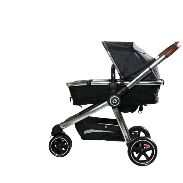 Chelino Platinum Discovery Travel System in Black/Chrome
