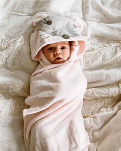 Elegant Baby Bath Wrap/Towel-Bath Towels-Elegant Baby-Princess Mouse-www.hellomom.co.za