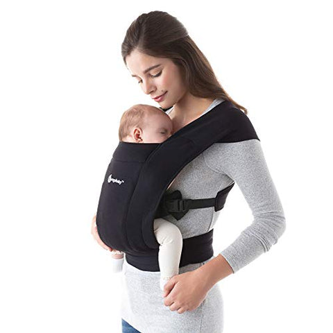 Ergobaby Embrace Carrier in Pure Black