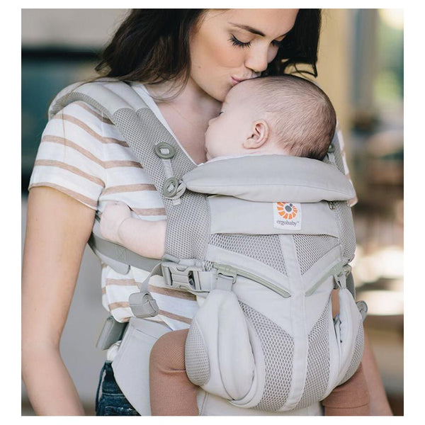 Ergobaby Omni 360 Cool Air Mesh Carrier  in Front Carrying Position