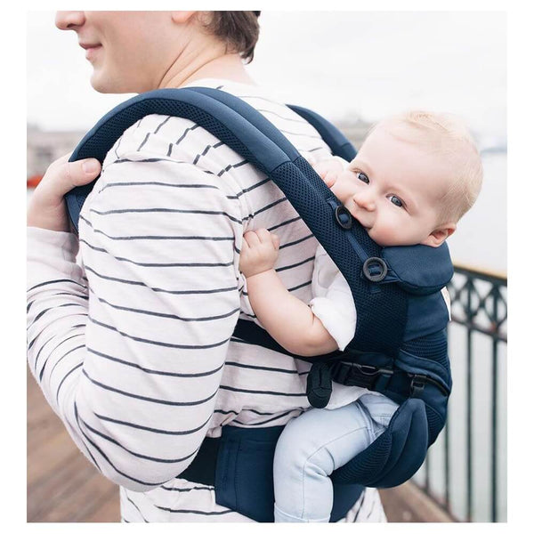 Ergobaby Omni 360 Cool Air Mesh Baby Carrier in Back Carrying Position