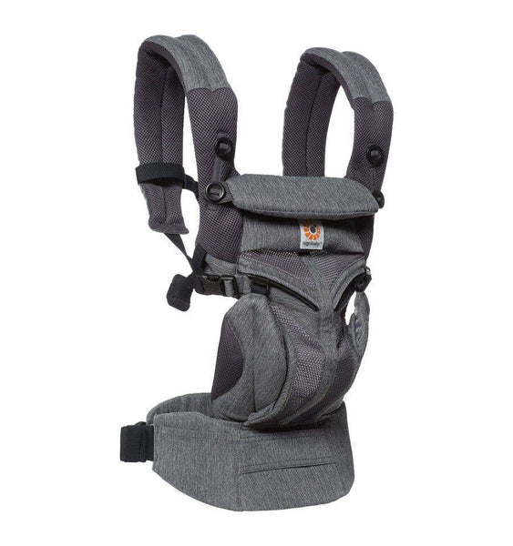 Ergobaby Omni 360 Cool Air Mesh Baby Carrier in Charcoal