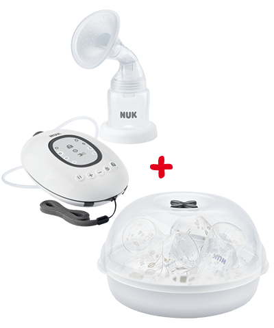 NUK First Choice Breast Pump and Sterliser Combo-Breastpumps-Nuk-www.hellomom.co.za