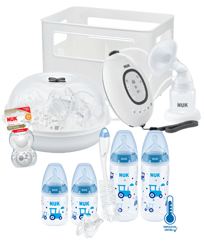 NUK First Choice Plus Pregnancy Bundle-Breastpumps-Nuk-Blue-www.hellomom.co.za