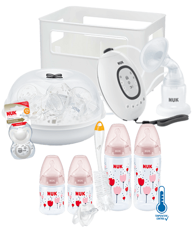 NUK First Choice Plus Pregnancy Bundle-Breastpumps-Nuk-Pink-www.hellomom.co.za