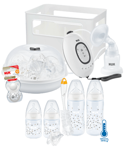 NUK First Choice Plus Pregnancy Bundle-Breastpumps-Nuk-White-www.hellomom.co.za