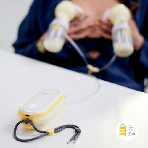 Medela Freestyle Flex Double Breast Pump In Use