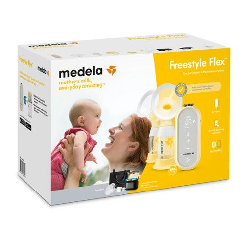 Medela Freestyle Flex Double Breast Pump in Packaging