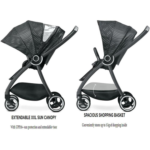 GB Maris Plus Stroller plus GB Idan Stage 0+ Car Seat and FREE GB BaseFix