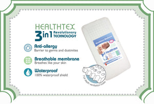 Snuggletime HealthTex Mattress-Mattresses-Snuggletime-Standard Cot-www.hellomom.co.za