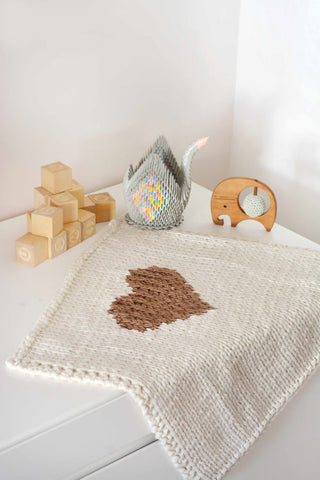 Heart Baby Blanket By Blankets From Africa-Blankets-Blankets From Africa-Pram and Car Seat Size-Black-www.hellomom.co.za