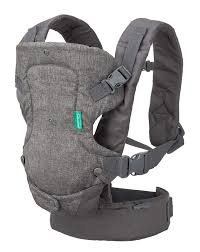 Infantino Flip Advanced 4 in 1 Convertible Baby Carrier-Baby Carriers-Infantino-Grey-www.hellomom.co.za