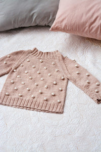 Bobble Jumper for Kids in Eco Cotton by Blankets From Africa