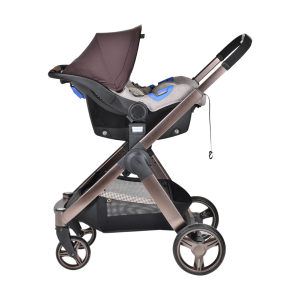 Chelino Platinum Lunar Stroller with car seat