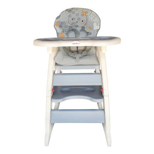 Mamakids 2 in 1 Highchair-Highchairs-Mamakids-Grey-www.hellomom.co.za