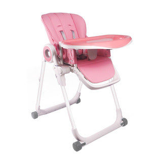 Mamakids Feast Feeding Chair-Highchairs-Mamakids-Pink-www.hellomom.co.za