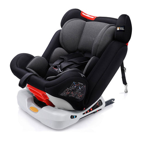 Mamakids Orbit 360 Isofix Car Seat Gr 0123-Car Seats-Mamakids-Black-www.hellomom.co.za
