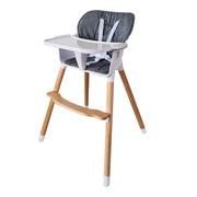 Mamakids Tayla 3 in 1 Highchair-Highchairs-Mamakids-Grey-www.hellomom.co.za