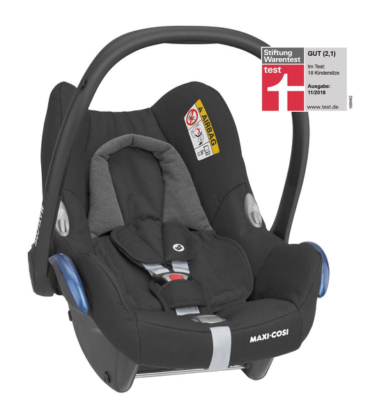 Maxi Cosi Gia Stroller with CabrioFix Car Seat and EasyFix Base-Travel Systems-Maxi Cosi-Black-www.hellomom.co.za